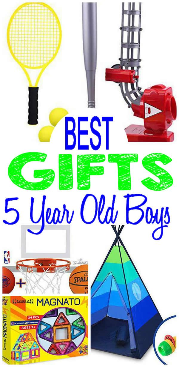 BEST Gifts 5 Year Old Boys Will Love Fun Creative Unique Presents For A 5th Birthday Christmas Or Holiday Find The Most AMAZING Gift Ideas With