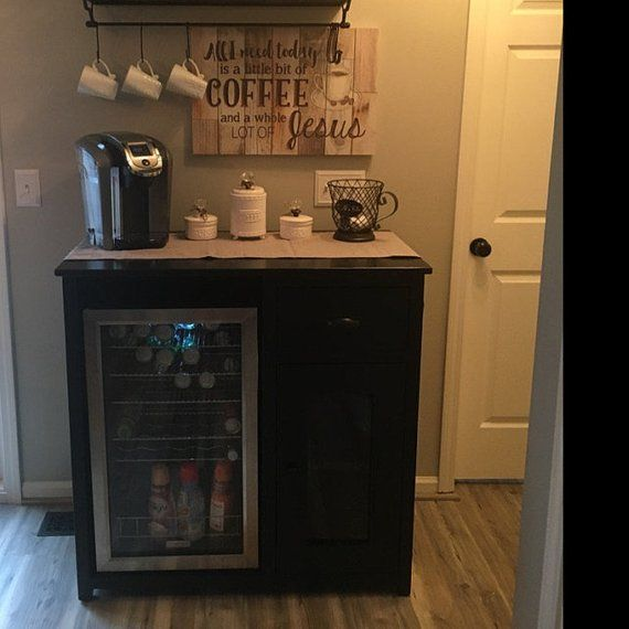 Half Sideboard With Wine Rack Etsy Coffee Bar Home Sideboard With Wine Rack Diy Coffee Bar