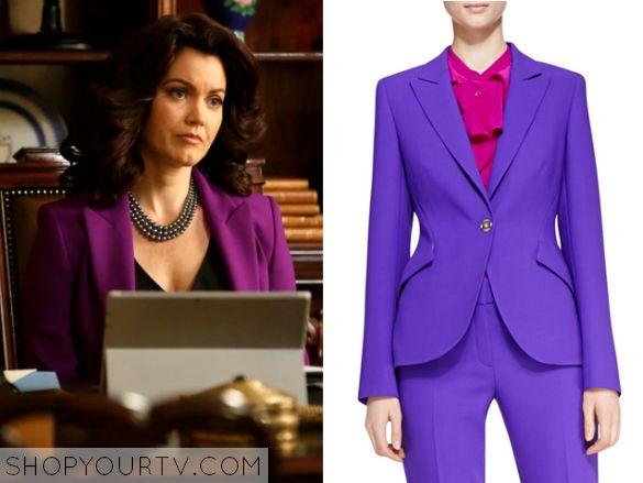 Scandal: Season 4 Episode 21 Mellie's Purple Blazer