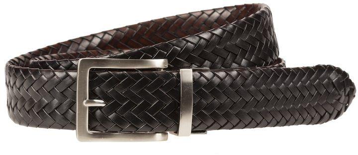 Lee Men's Reversible Braided Belt