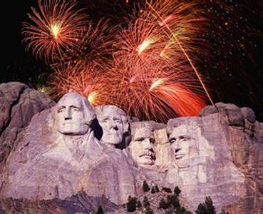 Mount Rushmore, South Dakota - went with extended family to see the Fireworks on 7/3/07.  It was a long day , but worth the wait!