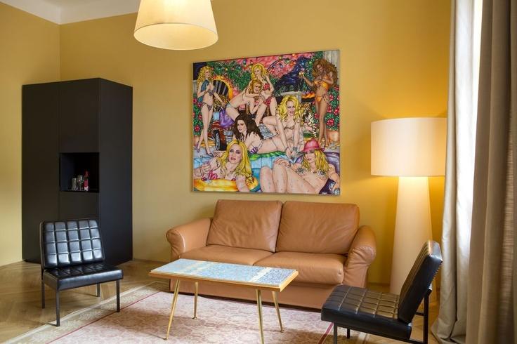 10 best junior suites impressions of the altstadt vienna images on pinterest vienna. Black Bedroom Furniture Sets. Home Design Ideas