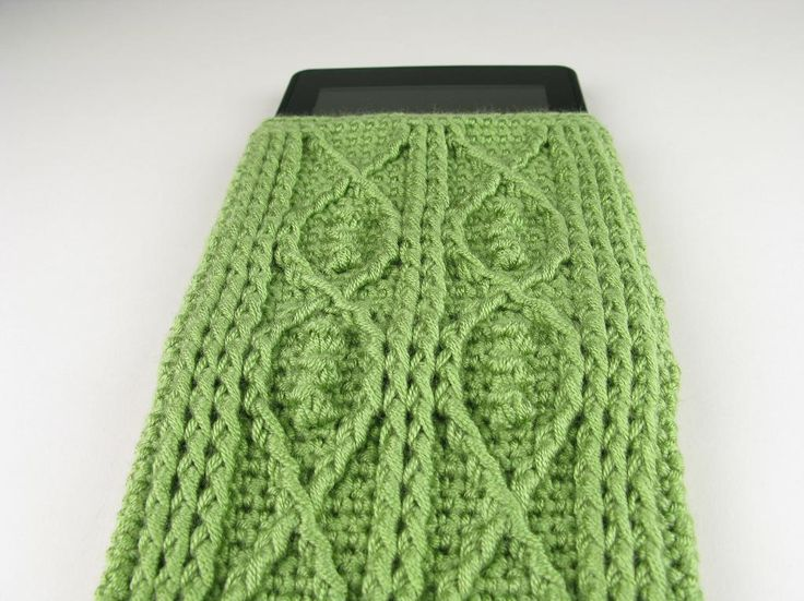 Crocheting Cables : Name: Crocheting : Kindle Fire Cover Crochet Cable Fish