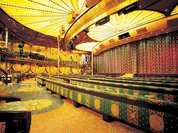 Mikado Main Show Lounge on the Carnival Elation.