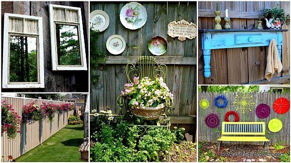 1-Top-23-DIY-Garden-Fence-Decorations-To-Mesmerize-Pedestrians.jpg (580×326)