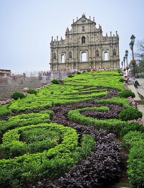 Macau gardens , Macau / China