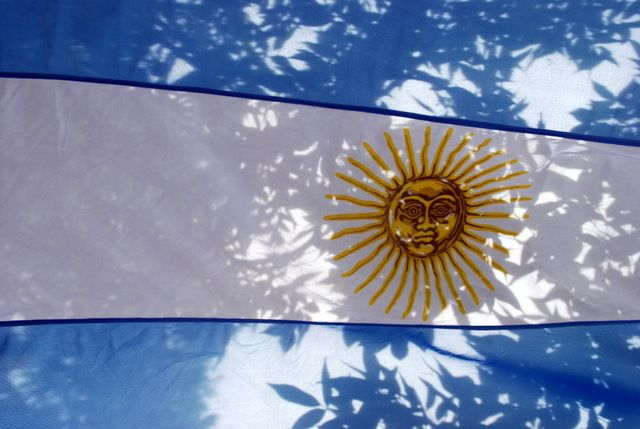 Day 114: Argentina flag, Buenos Aires (Argentina)