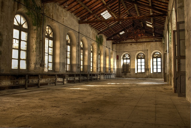 Abandoned ancient industrial facility in Sardinia. What I could do with this place....