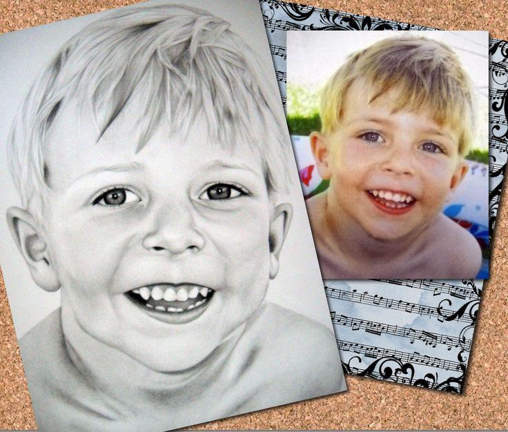 Kids Portrait done by Zelda Venter
