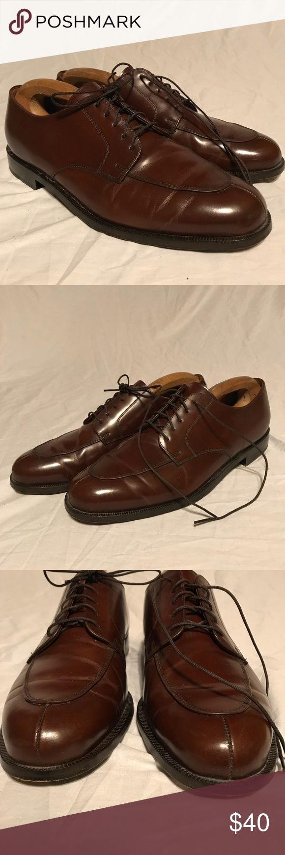Cole Haan City Split Toe Derby Brown 11.5M Great condition. Little sole wear. No leather damage. Moderate creasing. Make offers. Cole Haan Shoes Oxfords & Derbys