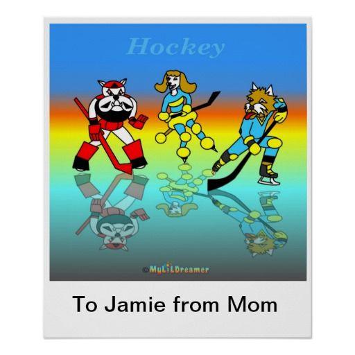 Hockey poster  for kids