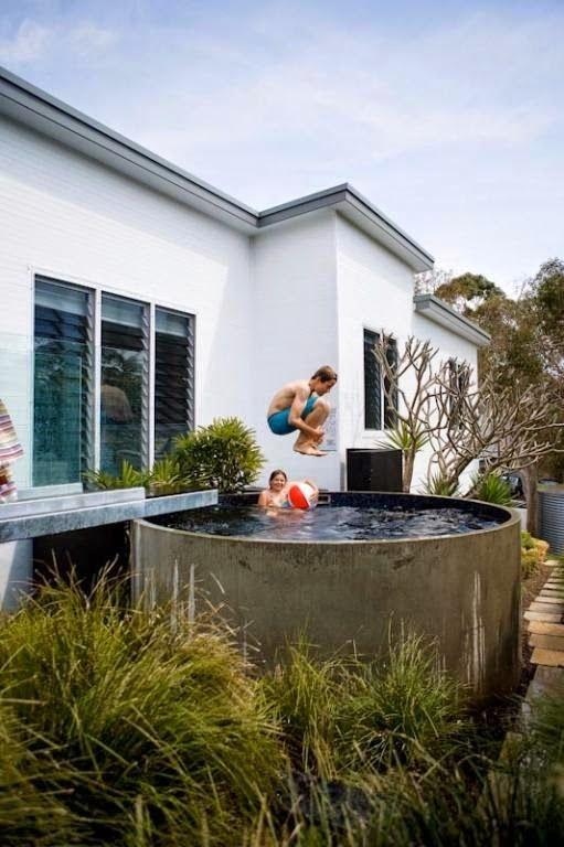 La Maison Boheme: Stock Tank Pool
