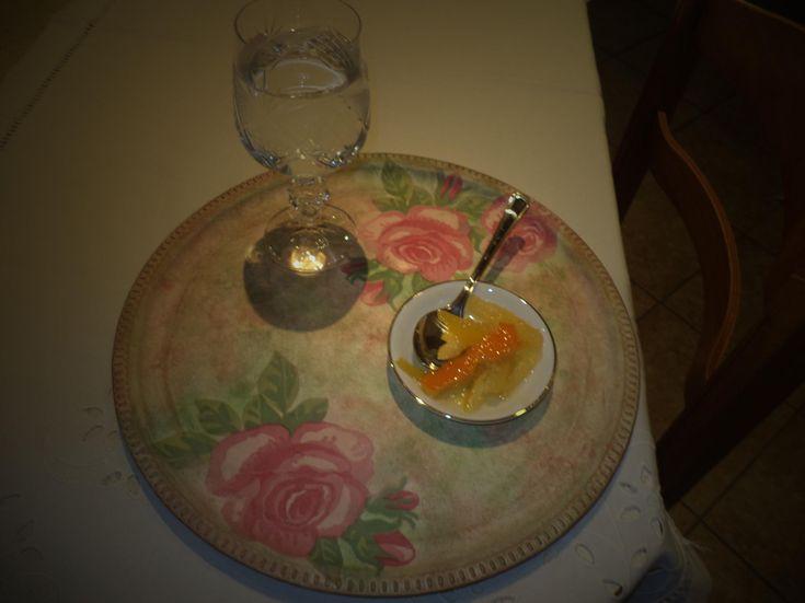 Γλυκό του κουταλιού με λεμόνι & πορτοκάλι