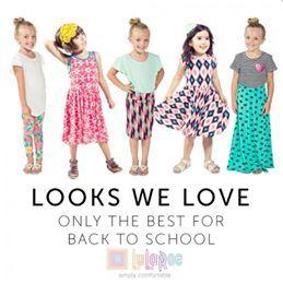 """LuLaKids  Shop LuLaRoe on Facebook by searching, """"LuLaRoe with Tiffany Braunel""""!"""
