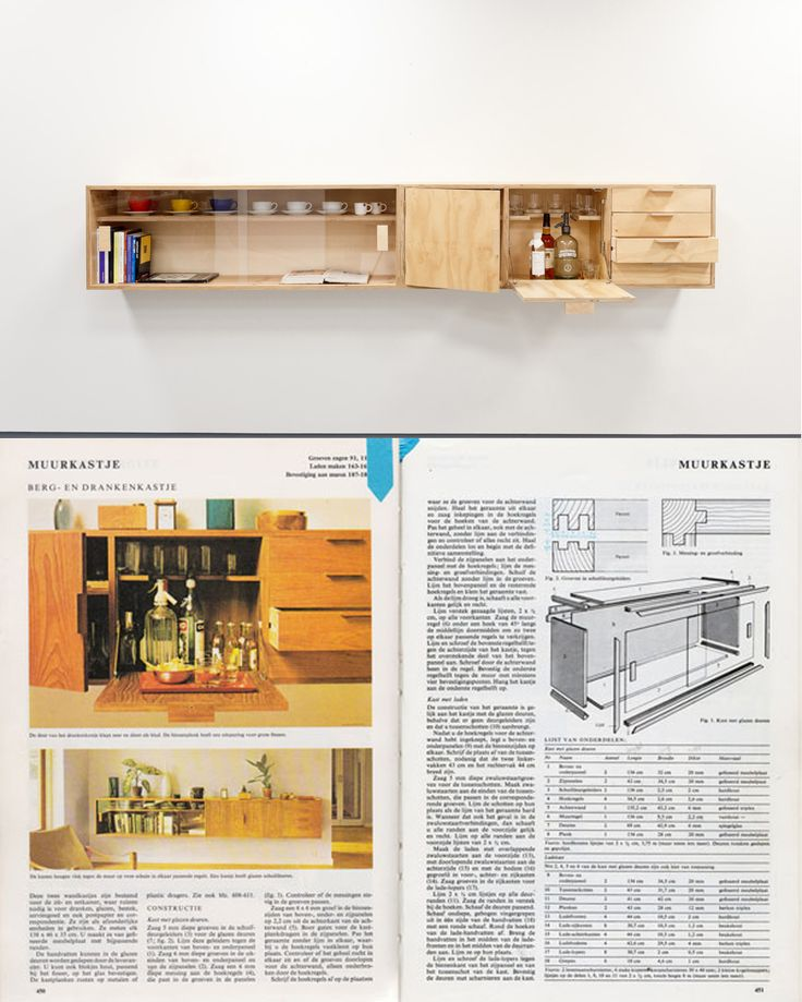Muurkastje By Loidy Carnero From The Dutch DIY Book Het Beste Doe Het Zelf