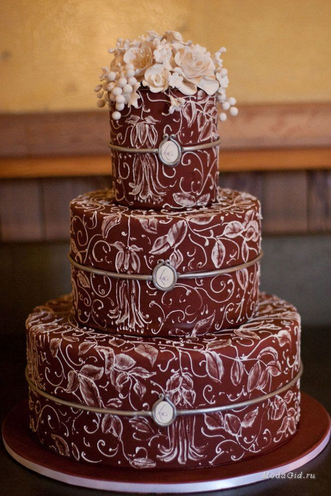Свадебная мода: Свадьба в цвете марсала