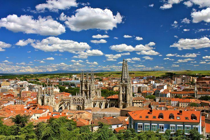 Vista de Burgos, Camino de Santiago