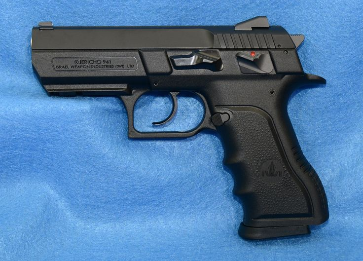 """IWI Jericho 941 Mid-Sized Polymer 9mm With 3.8"""" Barrel   RAT Worx USA Find our speedloader now! http://www.amazon.com/shops/raeind"""