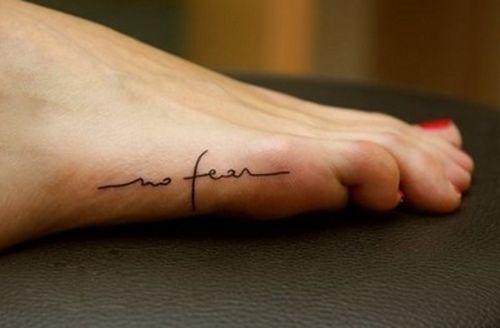 Script for tattoo