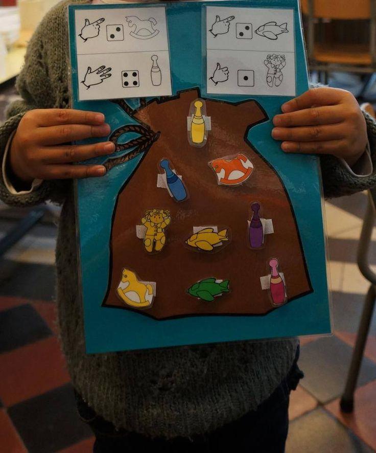 Opdrachten: de zak van Sinterklaas