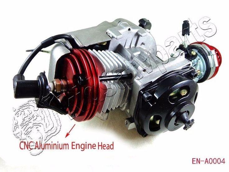 49CC 2-STROKE HIGH PERFORMANCE ENGINE MOTOR POCKET MINI BIKE SCOOTER ATV NEW 12k RPM NEXT!!!