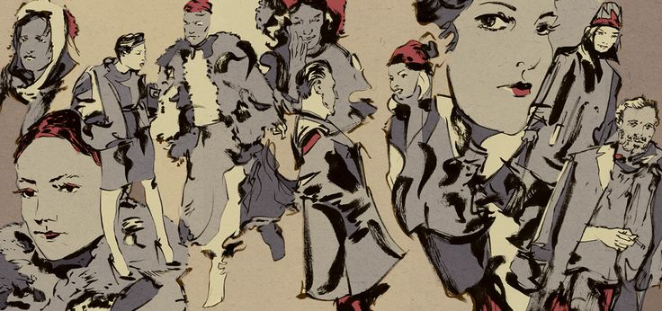 Fashion Illustration by Rob McMaster - www.robmcmaster.com Buy prints!  www.inprnt.com/gallery/robmcm/