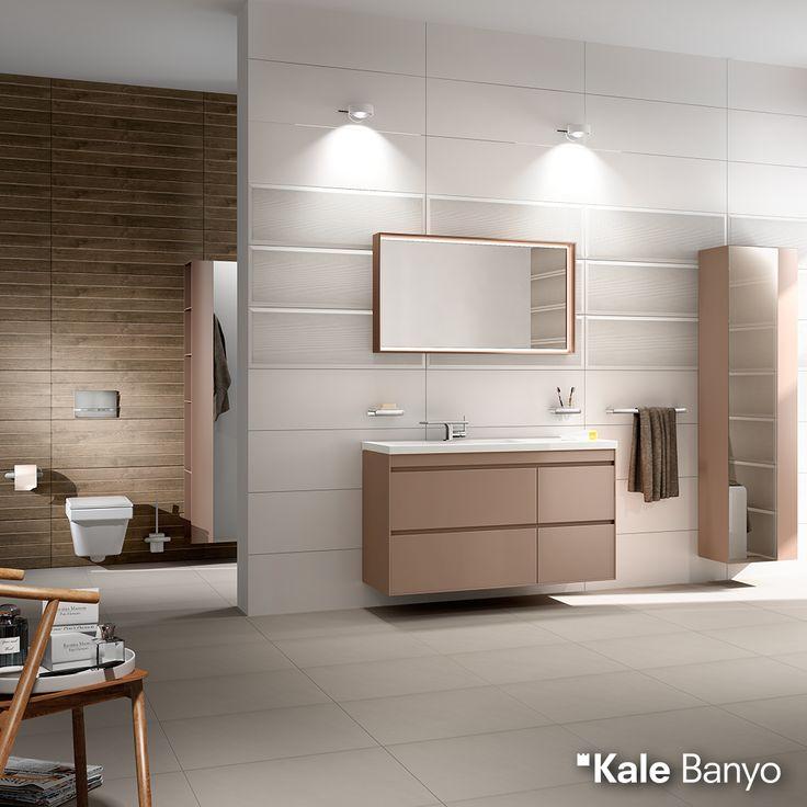 Fonksiyonel çözümler, yalın tasarımla More serisinde buluştu! Eternal lavabonun ince hatları ise bu buluşmaya mükemmel uyum sağladı. Kale #banyo #tasarım #bathroom #bathroomidea #dekorasyon #dekorasyonönerileri #decorationidea #bathroomfurniture