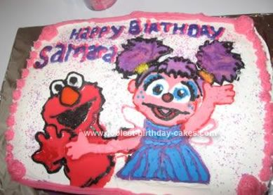 elmo birthday cake elmo birthday and birthday cakes on pinterest on elmo abby birthday cake