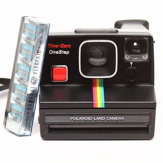 Polaroid Time-Zero OneStep Rainbow Instant SX-70 Film Land