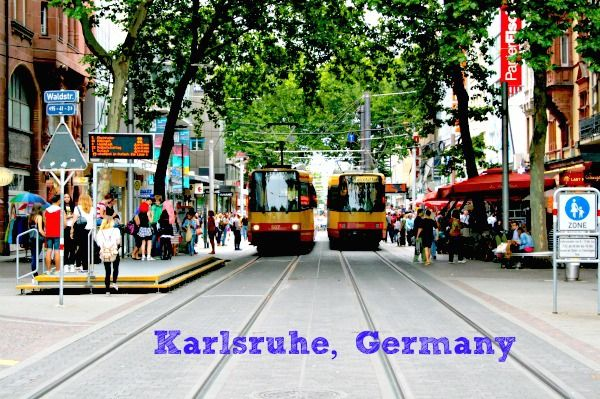 Fancy Karlsruhe Germany Downtown Trams A fun university town Leaf and Lemon My Blog Pinterest Karlsruhe Central europe and Road trips