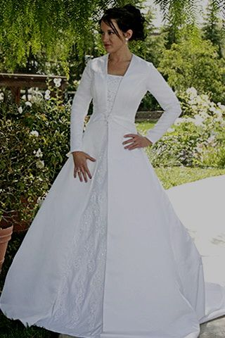 Best 25 mormon wedding dresses ideas on pinterest for Lds plus size wedding dresses