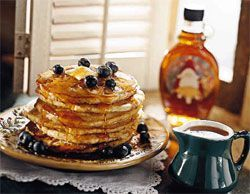 Mary strawberry pancake syrup