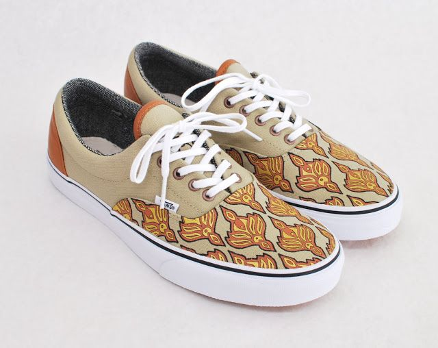10 Super Cool Pairs Of Customized Vans Shoes for Sale On Etsy! | Vans Since66