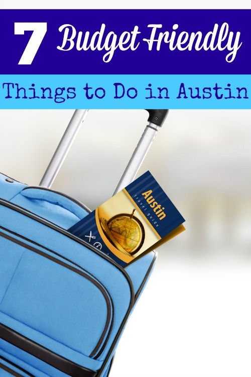 Headed to Austin, Tx? Don't break the piggy bank to have fun! These 7 budget friendly things to do in Austin are full of fun on the cheap!