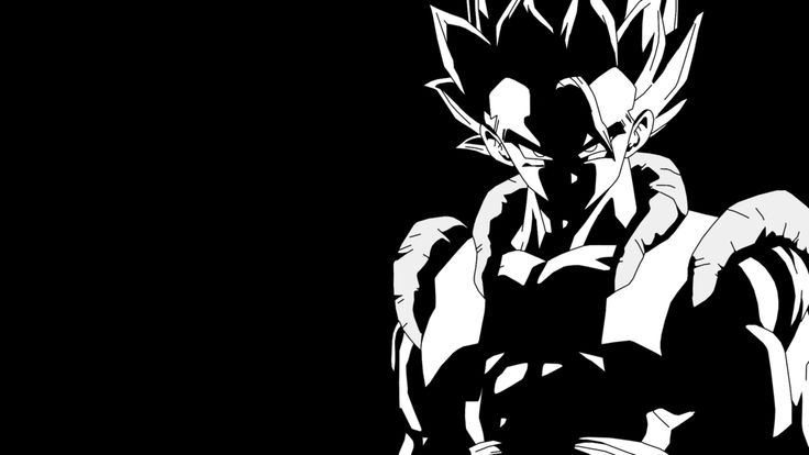 super_gogeta_black_and_white_wallpaper_by_rayzorblade189
