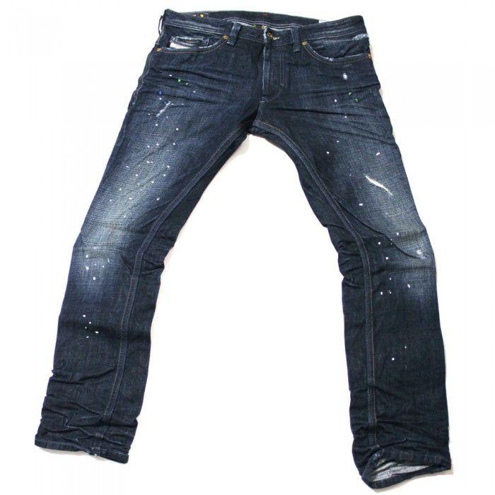 Diesel Thanaz 74K Mens Jeans | DNA | Dirty New Age | 0074K | Slim | Straight | Diesel Jean Sale | UK | Designer Man