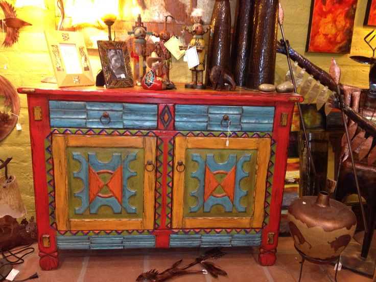 17 best images about southwestern painted furniture on pinterest