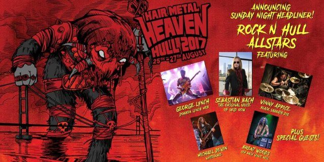 SEBASTIAN BACH, GEORGE LYNCH, VINNY APPICE Perform DOKKEN, SKID ROW, BLACK SABBATH Classics At 'Hair Metal Heaven' (Video) Read more at http://www.blabbermouth.net/news/sebastian-bach-george-lynch-vinny-appice-perform-dokken-skid-row-black-sabbath-classics-at-hair-metal-heaven-video.html#JcJRftgMWUCTu3c2.99