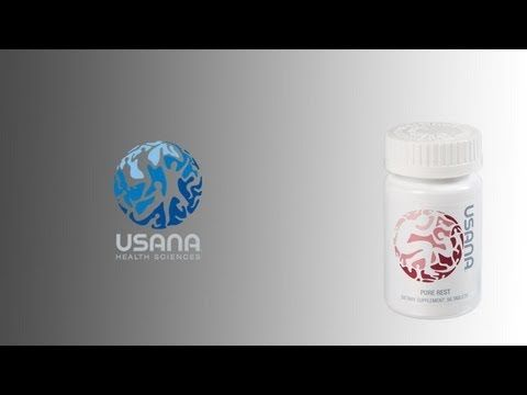 Healthy Rest   USANA Video - YouTube