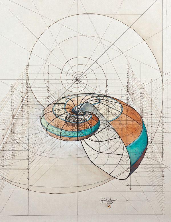 math geometric art | Art Meets Mathematics: Dizzying Geometric GIFs by David Whyte by ...