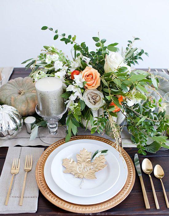 11 Centerpiece Ideas For A Festive Thanksgiving Table