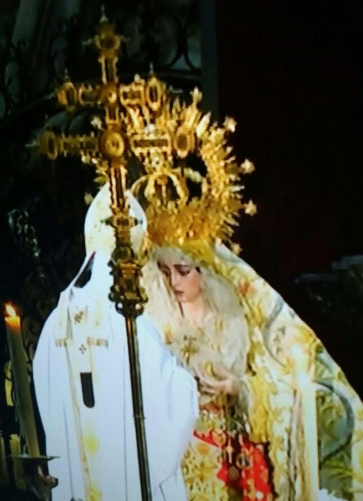 Coronación Virgen de la Salud. Hermandad de San Gonzalo. Sevilla.