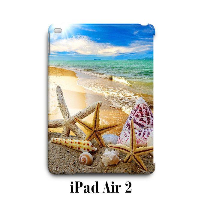 Summer Beach Sun Starfish iPad Air 2 Case Cover Wrap Around