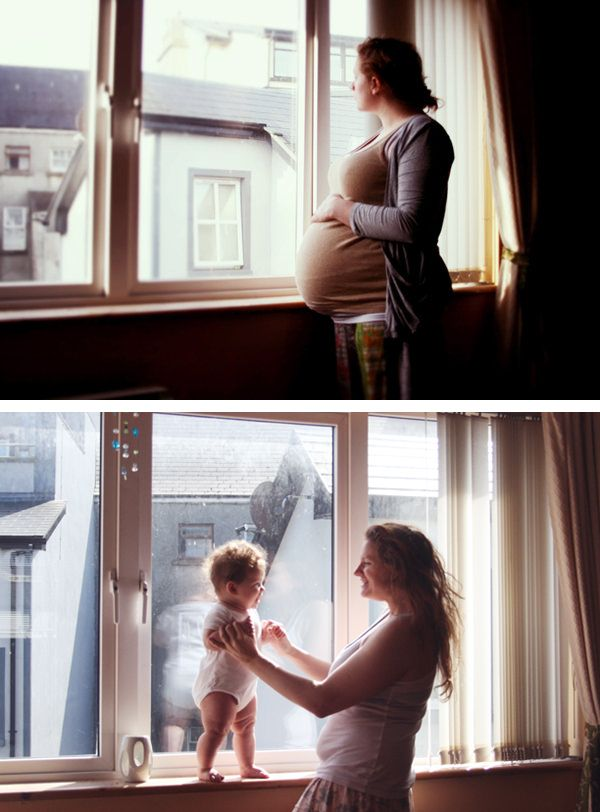 Sweet maternity photo idea from Erin Darcy photography. I love this but too bad I won't be in the same house :/