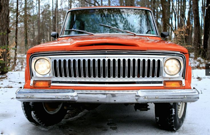 Nice Red Wag With The Razor Grille Wagoneer Pinterest Jeeps