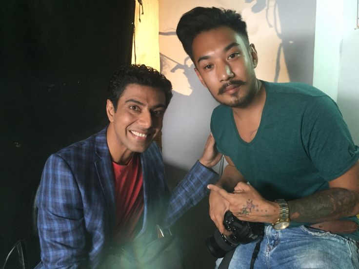 Ranveer Brar is an Indian chef, TV show host, judge and food stylist.