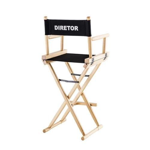 Cadeira Diretor Cinema Alta Marfim Preta... - Americanas.com