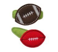 Football FELT STITCHIES (in the hoop)