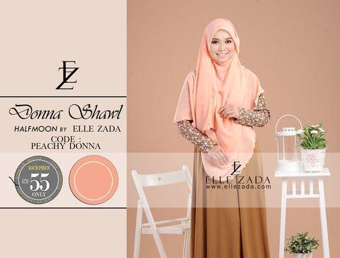 Shawl Labuh Fesyen Muslimah Moden