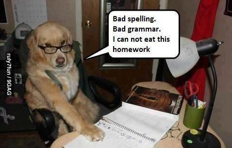 Not eating this homework.